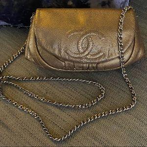 🤎Chanel halfmoon WOC crossbody bag 🤎